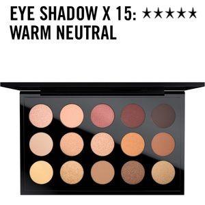 MAC warm neutral palette